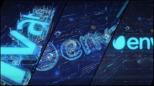 High Tech Logo V05 Designer