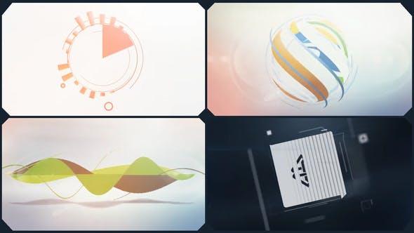 Thumbnail for Minimal Logo V01 Clean Shapes