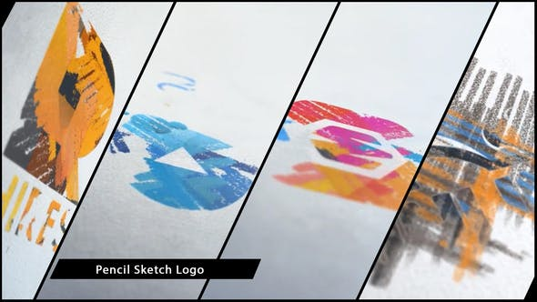 Thumbnail for Chalk and Pencil Sketch Logo