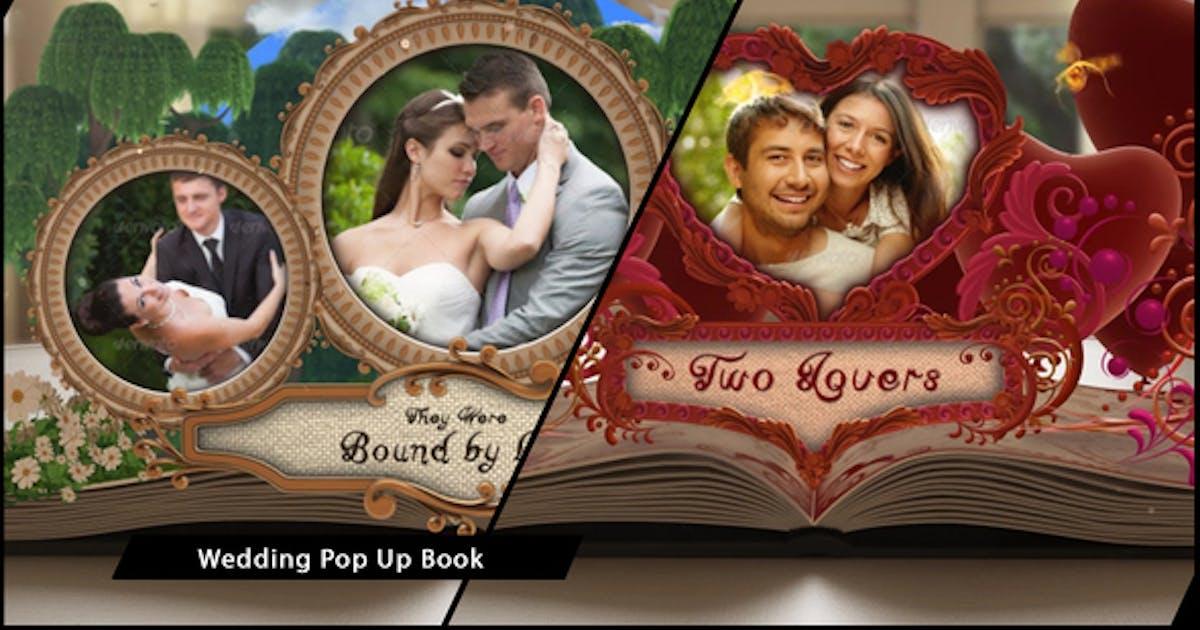 Wedding Album Pop up Book