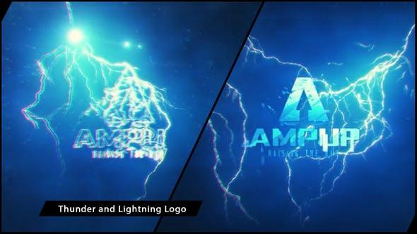 Thunder and Lightning Logo