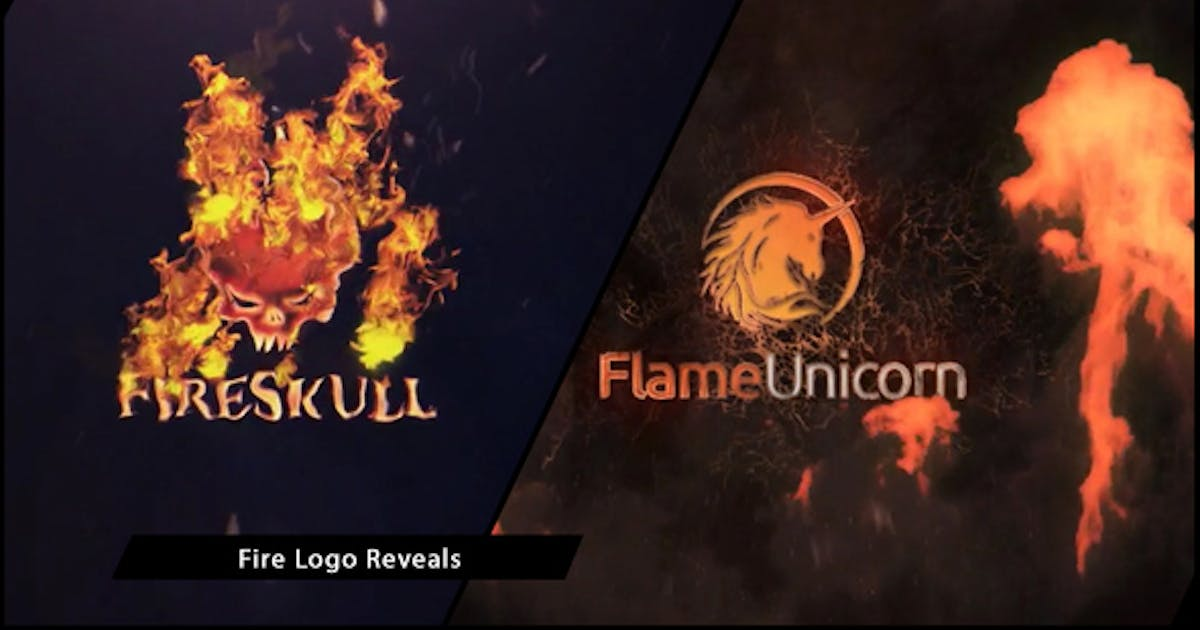 Download Fire Logo Reveals by MotionToolStore
