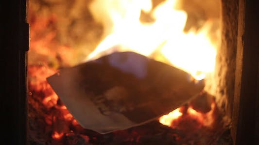 Thumbnail for Burning Old Photos In The Furnace