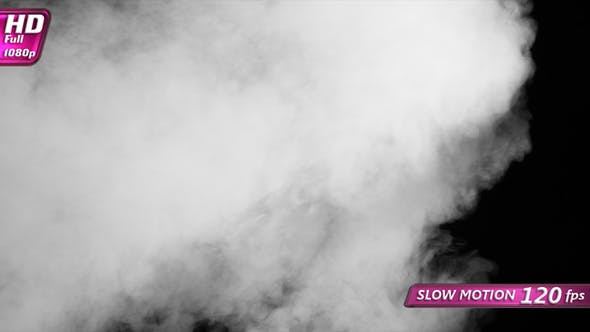 Thumbnail for Jet Of White Smoke Overlaps The Screen