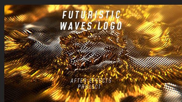 Thumbnail for Futuristic Waves Logo
