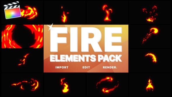 Thumbnail for Fire Elements | FCPX