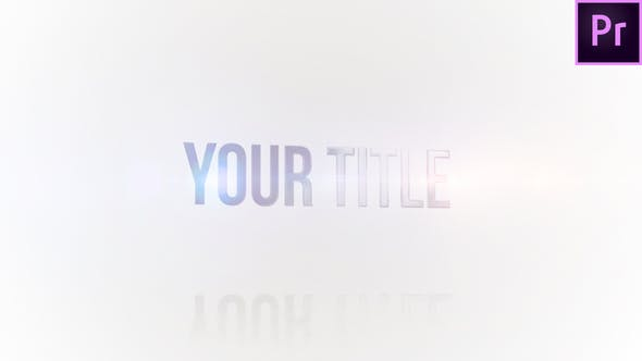 Simple Title Reveal 2
