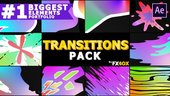 Thumbnail for Gradient Transitions | After Effects