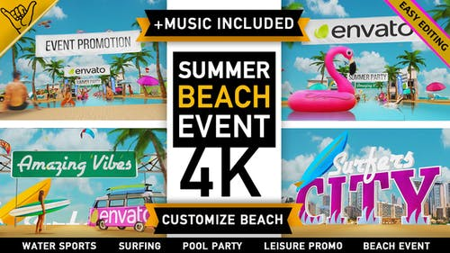 Summer Beach - Holiday Resort Party Event