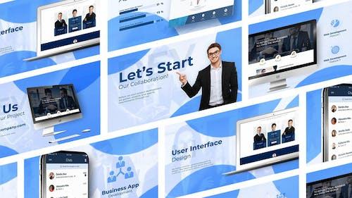 App and Website Development for Marketing Business