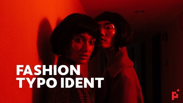 Thumbnail for Fashion Ident // Typo Opener | For Final Cut & Apple Motion