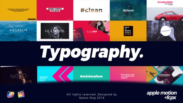 Thumbnail for Modern Typography | Final Cut Pro