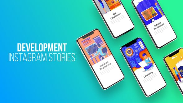 Thumbnail for Instagram Stories About Development