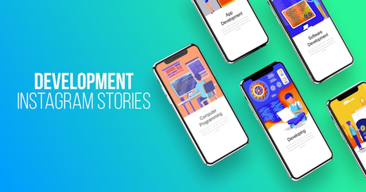 Download Web Development - Instagram Stories by IconsX