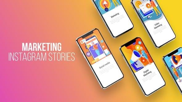 Thumbnail for Instagram Stories About Marketing