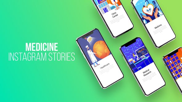 Thumbnail for Instagram Stories About Medicine