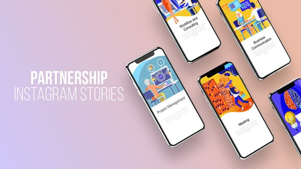 Thumbnail for Instagram Stories About Partnership