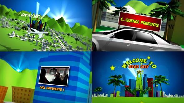 Thumbnail for Ciudad de la estrella de Dibujos animados