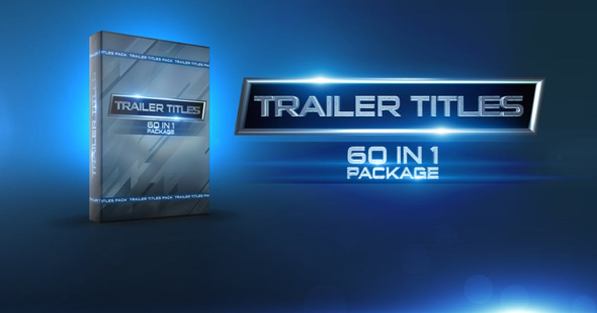 Download Trailer Titles Pack by HaeroTV