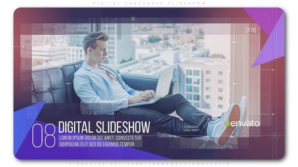 Thumbnail for Digital Corporate Slideshow