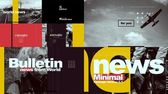 Minimal News Pack V1