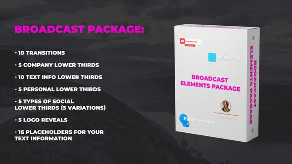 Broadcast Elements Package