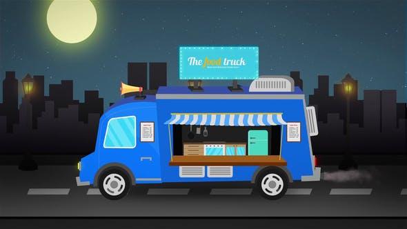 Thumbnail for Food Truck Logo Reveal