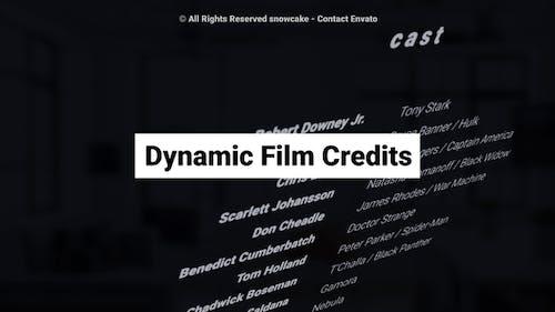 Dynamic Film Credits