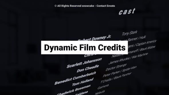 Thumbnail for Dynamic Film Credits