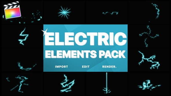 Thumbnail for Electric Elements | Apple Motion