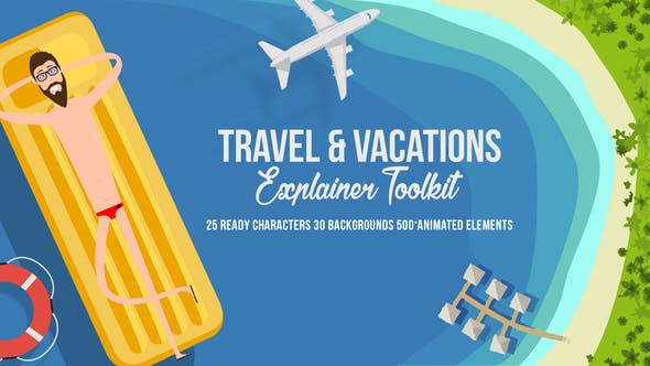 Thumbnail for Travel & Vacations Explainer Toolkit