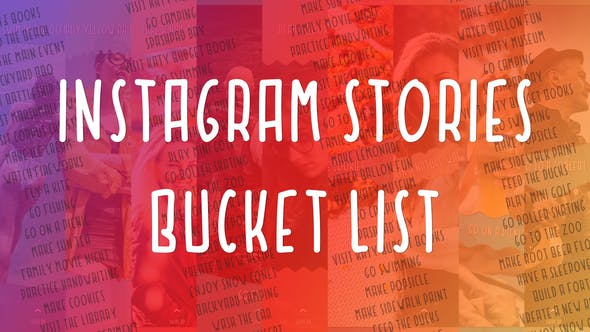 Thumbnail for Instagram Stories Bucket List