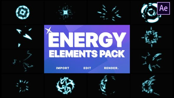 Thumbnail for Energy Elements | After Effects