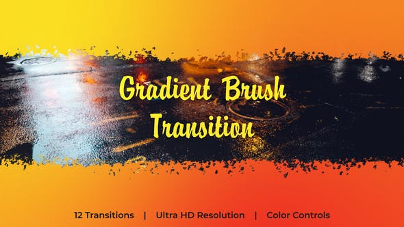Thumbnail for Gradient Brush Transition | Essential Graphics
