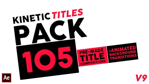 Thumbnail for Kinetic Titles Pack