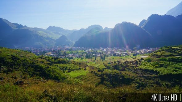 Thumbnail for 4K Meo Vac Town in Ha Giang, Vietnam