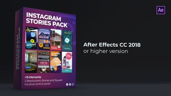 Thumbnail for Instagram Stories Pack