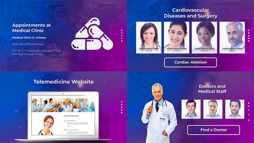 Doctor and Healthcare Clinic Promotion