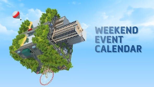Thumbnail for Weekend Event Calendar