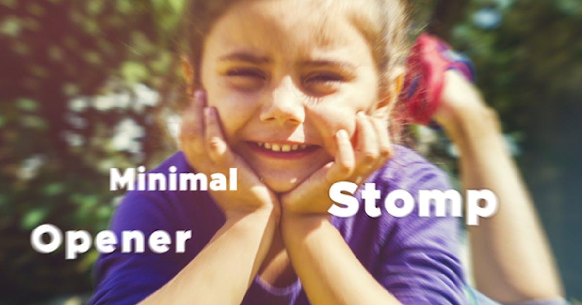 Download Minimal Stomp Opener by BonaFidex