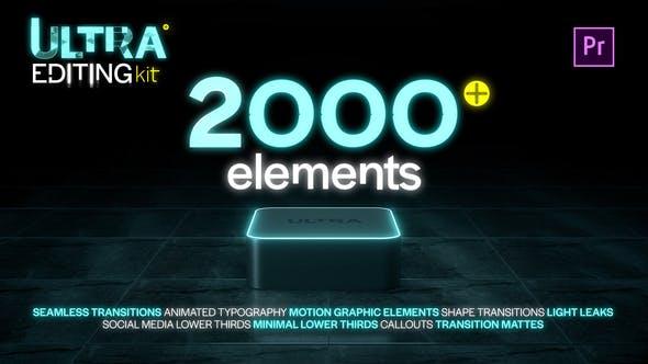 Thumbnail for Ultra Editing Kit | Premiere Pro