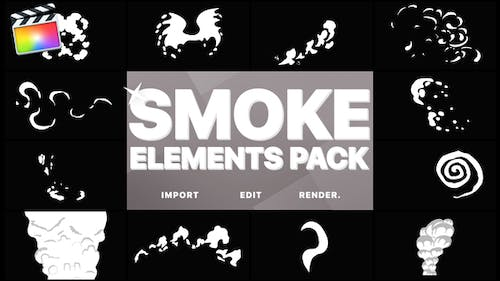 Funny Smoke Elements | FCPX