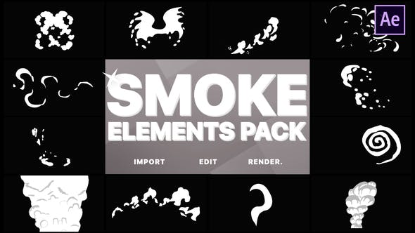 Cover Image for Funny Smoke Elements   After Effects