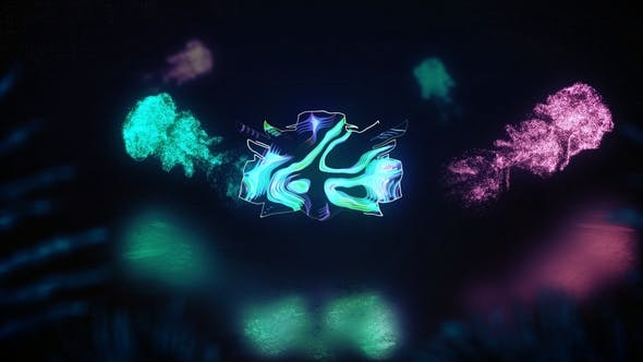 Thumbnail for Glowing Futuristic Logo