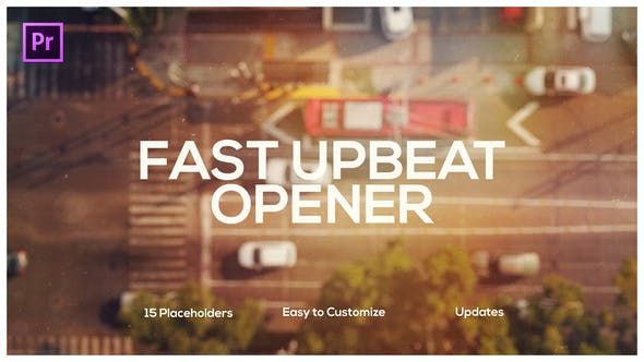 Thumbnail for Fast Upbeat Slideshow for Premiere Pro