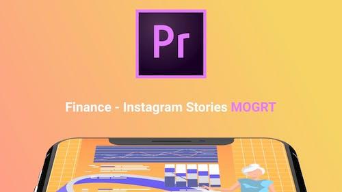 Instagram Stories About Finance (MOGRT)