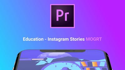 Instagram Stories About Education (MOGRT)