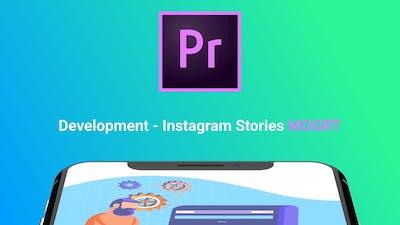 Instagram Stories About Development (MOGRT)