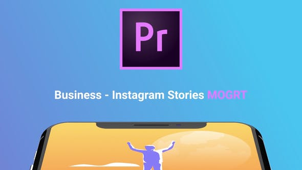 Thumbnail for Instagram Stories About Business (MOGRT)