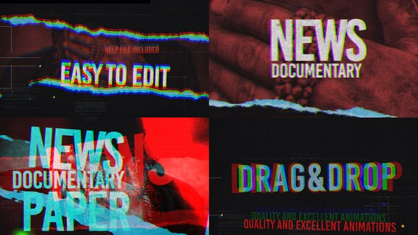Thumbnail for News And Documentary Opener